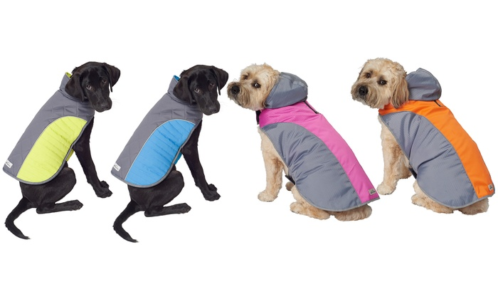 1bb9ffa707d5c Eddie Bauer Dog Portage Quilted Jacket or Active Performance Harness Jacket