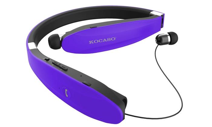 Wireless headphones bluetooth compact - wireless bluetooth headphones purple