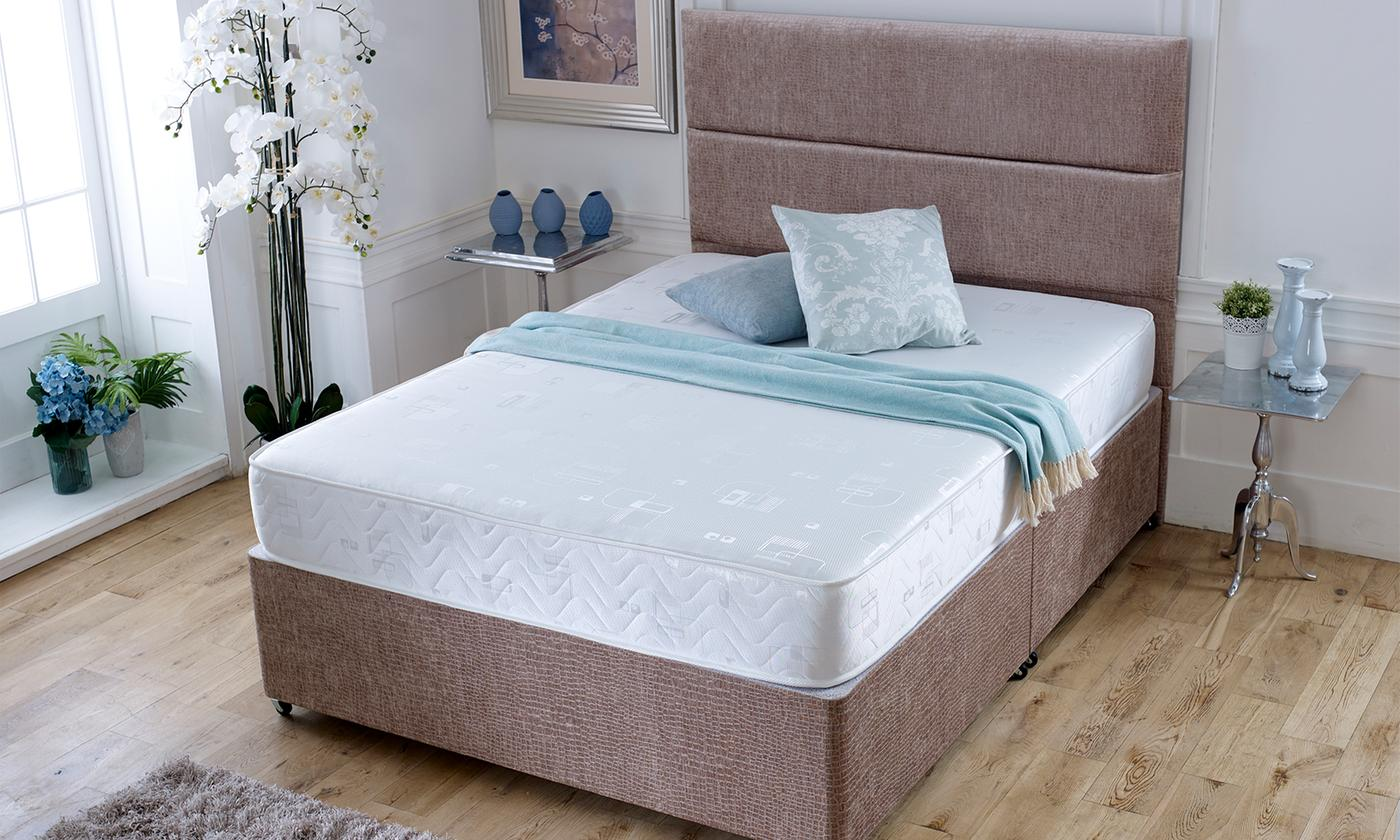 Harmony Bonnell Spring Six-Core Layer Memory Foam Mattress from £55 (52% OFF)