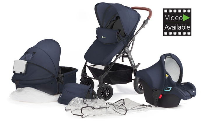 Groupon Goods Global GmbH: KinderKraft 3-in-1 MOOV Travel System for €249 With Free Delivery (55% Off)