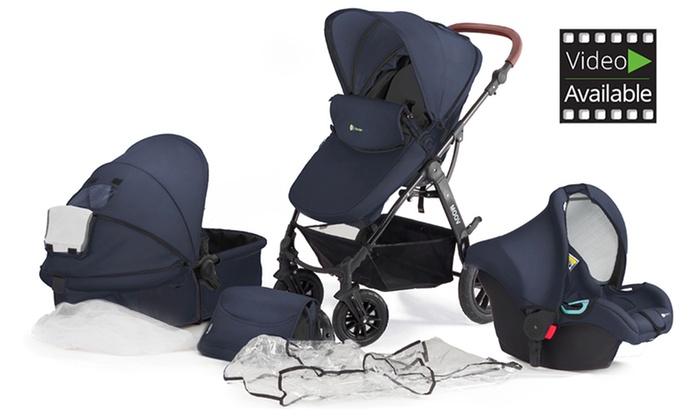 kinderkraft 3 in 1 stroller