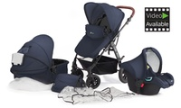 Kinderkraft Three-in-One MOOV Stroller for £199.99 With Free Delivery