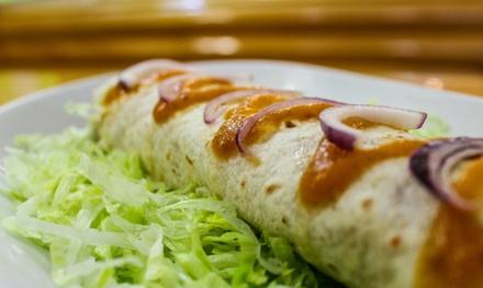 Menú mexicano para dos personas con entrante, principal, postre, bebida y caballito desde 19,95 € en Mezcal