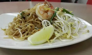 Suphunnahong Thai Food: Two-Course Thai Meal for One ($12), Two ($22) or Six ($65) People at Suphunnahong Thai Food (Up to $120 Value)
