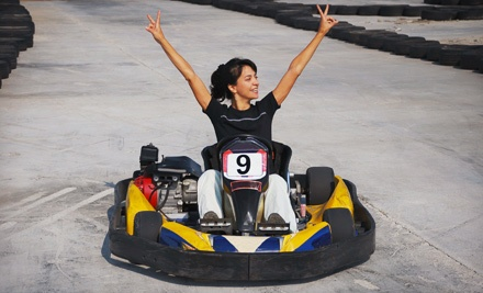 Two Sprint-Kart or Race-Kart Races at Speedworld (Up to 53% Off)