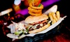 Around The World Bar - Manchester - Manchester: Burger, Pizza or Salad with a Drink for Up to Four at Around The World Bar