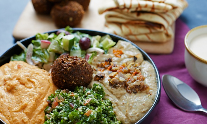 mediterranean Grill & Go - Eastside: Falafel with a Side at mediterranean Grill & Go (44% Off)