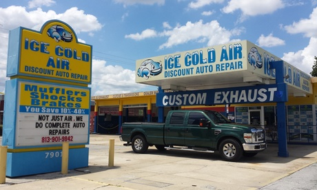 Blend or Full Synthetic Oil Change or Car Care Club Package at Ice Cold Air Discount Auto Repair (Up to...