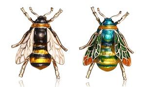Broche en forme d'abeille