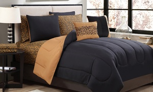 9-piece Comforter Set With Sheets Included
