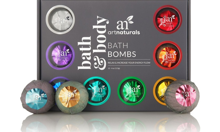 Luxury Groupon Bath Bombs