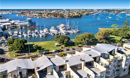 Sunshine Coast, QLD: 2 to 5Night Apartment Stay for Two of Four with Wine at Sailport Mooloolaba Apartments
