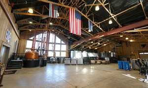 Distillery Tour for Two or Four, Valid on Weekdays or Weekends at Jeptha Creed Distillery (Up to 45% Off)