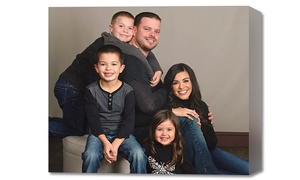 JCPenney Portraits: Photo Shoot with Gallery Wrap at JCPenney Portraits (86% Off)