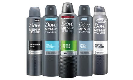 Three- or Six-Pack of Dove Men +Care Antiperspirants