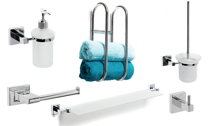 6 Piece Bathroom Accessories Sets ...