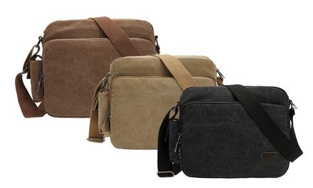 Men's Retro Canvas Bag