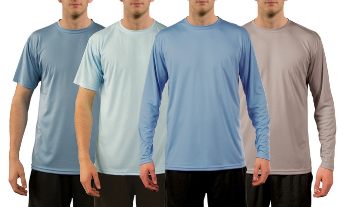 Up to 53 off on vapor apparel men s t shirts groupon goods for Sun protection t shirts