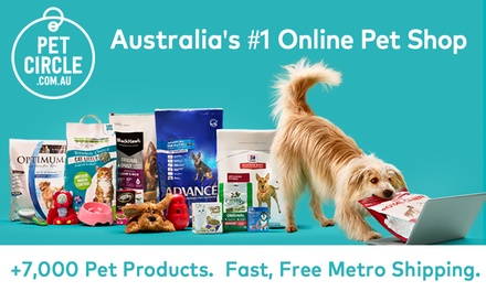 $5 to Spend Online at Pet Circle  New Customers Only, Min. Spend $90