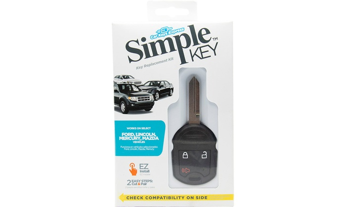 Up To 64 Off On Replacement Car Key Remote Groupon Goods