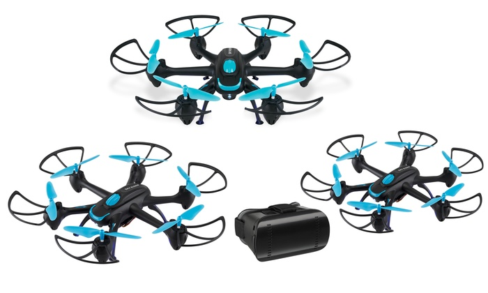 Up To 63% Off on Sky Rider Hexacopter Drone | Groupon Goods