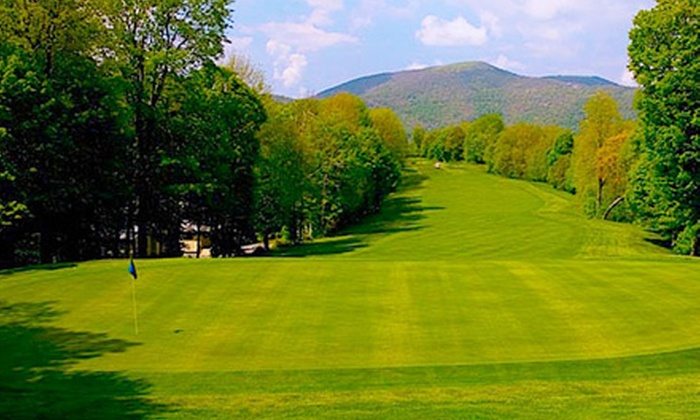 Wolf Laurel Country Club - 7, Ebbs Chapel: $50 for an 18-Hole Round of Golf and Cart Rental at Wolf Laurel Country Club (Up to $100 Value)