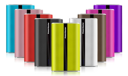 Portable 20,000mAh LED Triple-USB Power Bank with Smart Charging