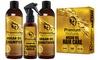 Premium Nature Argan Oil Hair Treatment Gift Set (3-Piece)