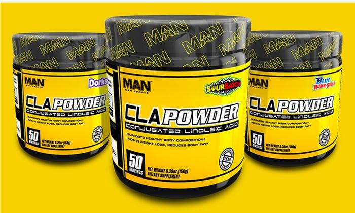 MAN Sports CLA Dietary Supplement (50 Servings)