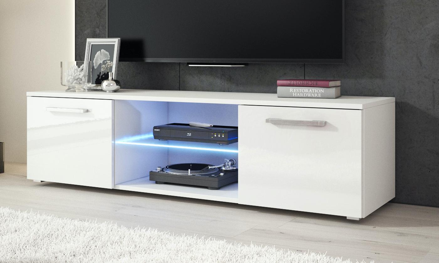 e-Com TV Unit Zeus with Optional LED Light