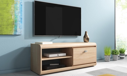 jusqu 39 46 meuble tv edge groupon. Black Bedroom Furniture Sets. Home Design Ideas