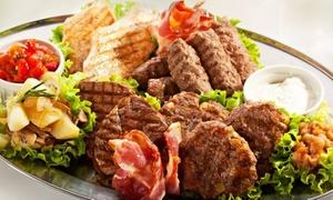 Mali Raj: 3-Gänge-Grill-Menü mit Fleisch-Spezialitäten und Digestif für Zwei oder Vier im Restaurant Mali Raj (bis zu 58% sparen*)