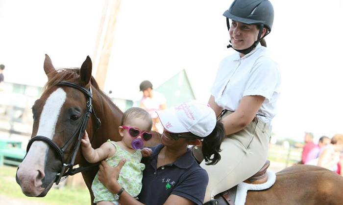 Thousand Hills Riding Stables LLC - Marshall: One or Three 30-Minute Private Kids' Horseback-Riding Lessons at Thousand Hills Riding Stables LLC (Up to 55% Off)