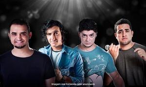 C.A. Produções: 4 Amigos– Teatro Santo Agostinho: 1 ingresso por pessoa para show de stand-up comedy