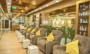 Queens Ksenses Spa and Salon: Choice of Hair Services Including Haircut, Colour, Wash and Blow-Dry at Queens Ksenses Spa and Salon (Up to 75% Off)