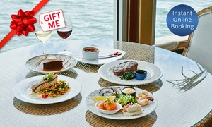 Waterfront Port Melbourne: Seafood Fine Dining Experience with Wine for Two ($59) or Four ($118) at Waterfront Port Melbourne (Up to $374 Value)