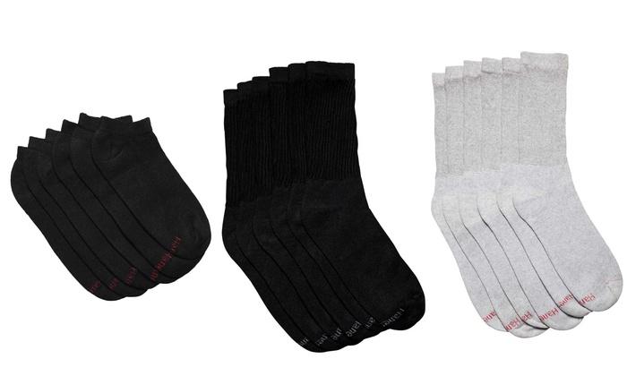 6 paia di calze uomo Hanes