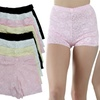 Women's Stretchy Lace High-Rise Shorts (6-Pack)