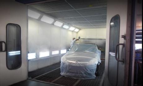 Servicio reparación de chapa y pintura para coche parcial o completa en RAR Automoción SL