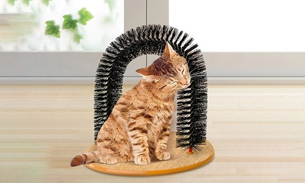 CAT SELFGROOMER SCRATCHER ARCH CATNIP MASSAGER