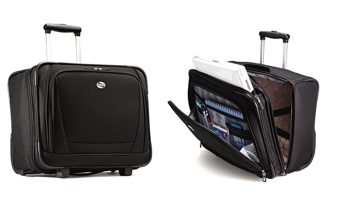 American tourister wheeled bag groupon goods - American tourister office bags ...