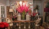 Ellis Home and Garden - Multiple Locations: Home Décor and Gardening Supplies at Ellis Home and Garden (Up to Half Off). Two Options Available.