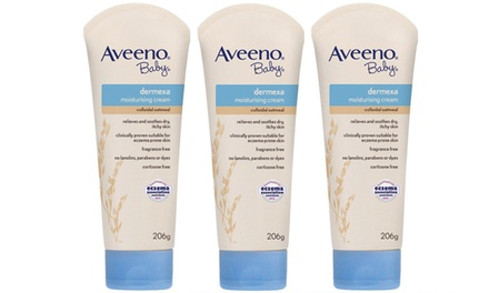 Aveeno Dermexa Baby Moisturising Cream: Three $19.95 or Six $29.95 Don't Pay up to $125.70