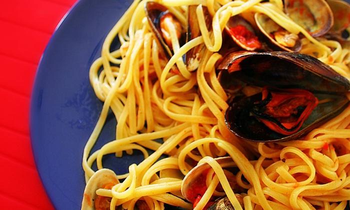 Da Alessandro - PISTOIA: Menu di terra o mare all you can eat con pasta fatta in casa per 2 o 4 persone da Da Alessandro (sconto fino a 72%)