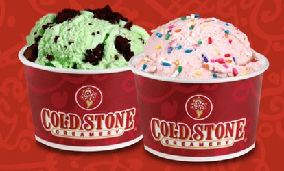 image for $12 for Four vouchers, Each Good for $5 Worth of Ice Cream at Cold Stone Creamery ($20 Total Value)