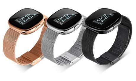 Smartwatch deportivo Apachie P2 en poliuretano o metal