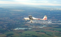 30- or 60-Minute Flying Lesson on a Two- or Four-Seater Plane at Starsfly Flying School (Up to 36% Off)