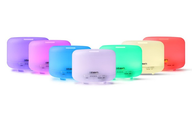 From $29.95 for a Seven Colour LED Light Aroma Diffuser in Choice of Design