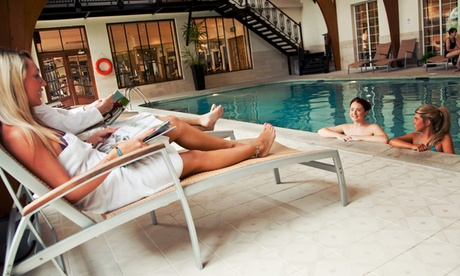 Cheshire: 1-2 Nights for 2 with Breakfast, Main Course Dinner, Spa Accessand Optional Treatment at 4* Rowton Hall Hotel