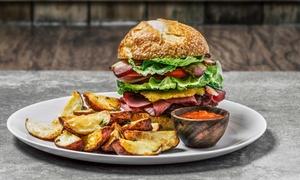 Classic Finest Burger and Pizza: Burger nach Wahl inkl. Pommes, Dip und Getränk für 2 oder 4 Personen bei Classic Finest Burger and Pizza (34% sparen*)